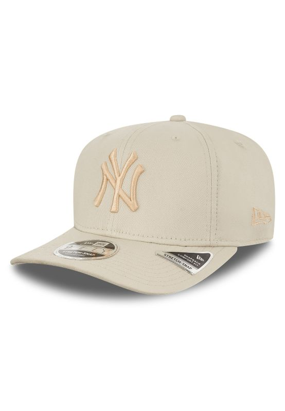 New Era League Essential 9Fifty Snapback Cap NY YANKEES Beige Ansicht