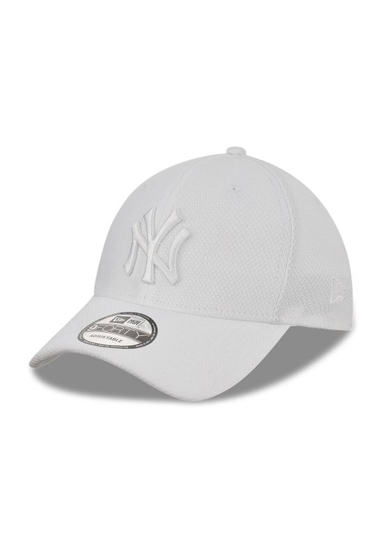 New Era Diamond Era 9Forty Adjustable Cap NY YANKEES Weiß Weiß Ansicht