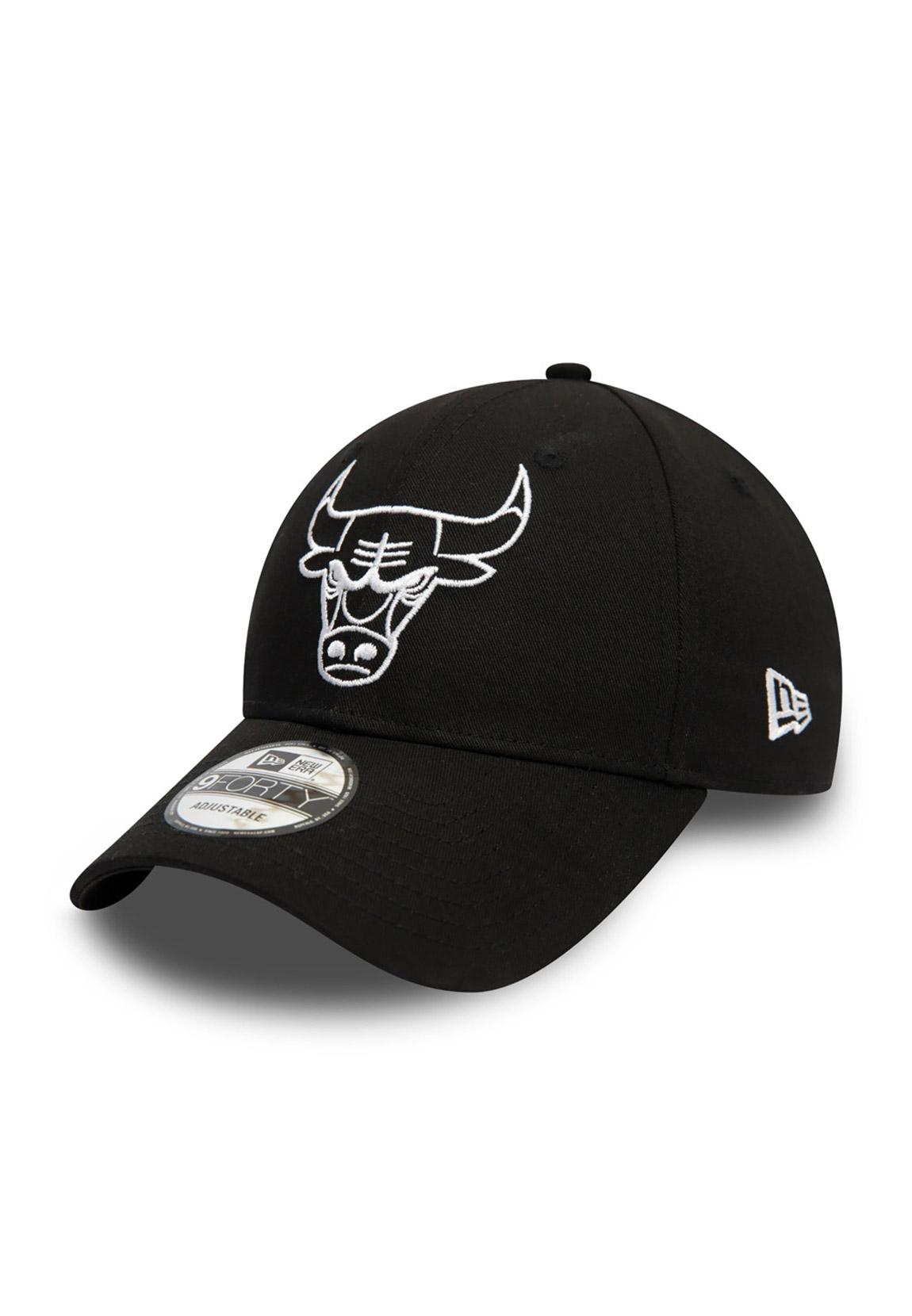 New Era Chicago Bulls 9Forty Cap Schwarz