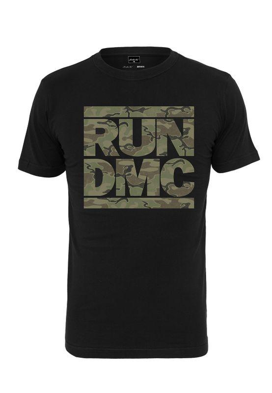 Mister Tee T-Shirt run DMC CAMO TEE MT1013 Black Ansicht