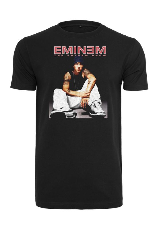Mister Tee T-Shirt EMINEM SEATED SHOW TEE MT1117 Black Ansicht