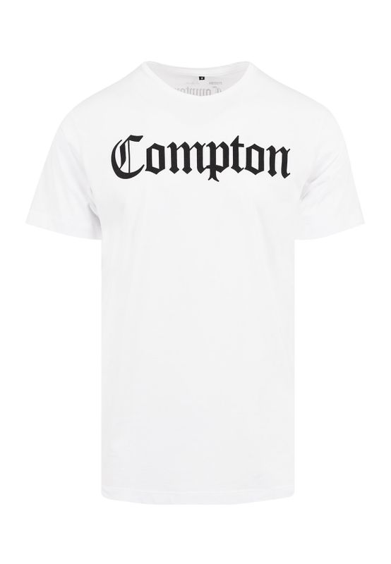 Mister Tee T-Shirt COMPTON TEE MT268 White Ansicht