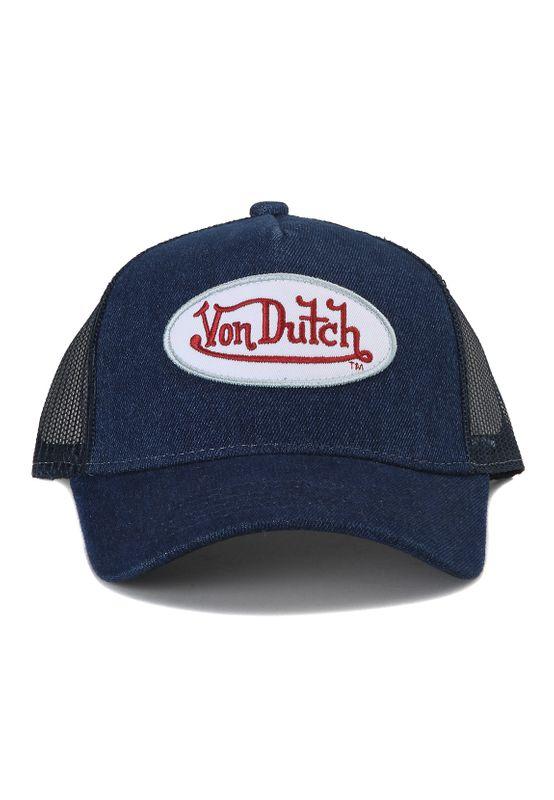Von Dutch Trucker Cap VDHT 102 Dunkelblau Denim Ansicht