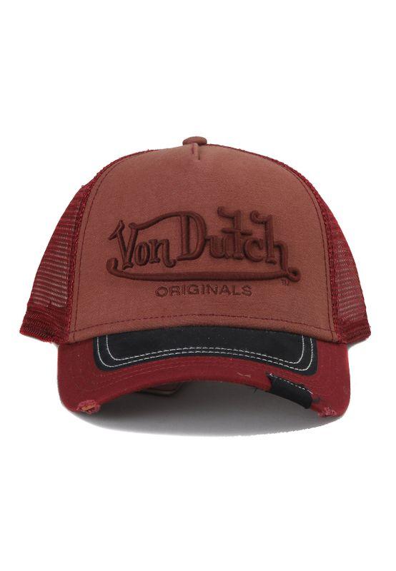 Von Dutch Trucker Cap VDHT 002 Dunkelrot Ansicht