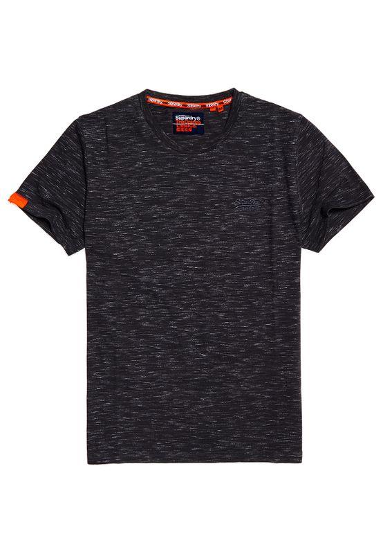 Superdry T-Shirt Herren OL VINTAGE EMB CREW Slate Space Dye Ansicht