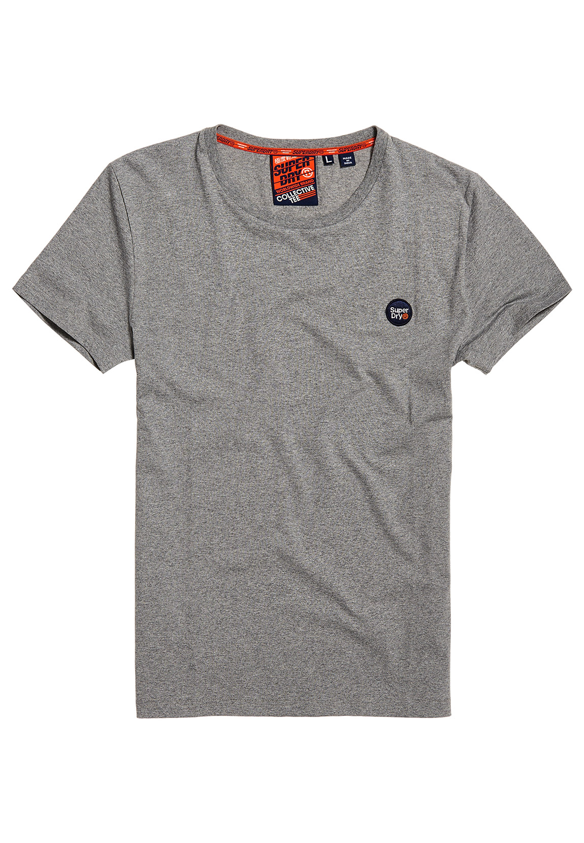 Superdry T Shirt Herren COLLECTIVE TEE Grey Marl