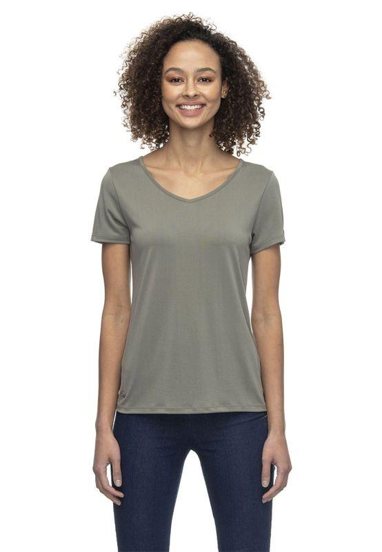 Ragwear T-Shirt Damen T-Shirt GALE 2021-10008 Khaki Dusty Olive 5011 Ansicht
