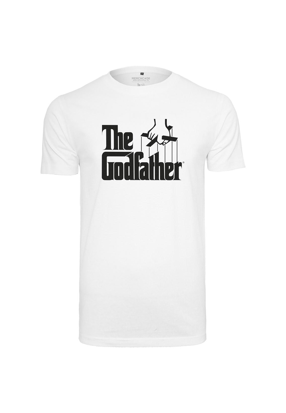 Merchcode T-Shirt GODFATHER LOGO TEE MC386 White