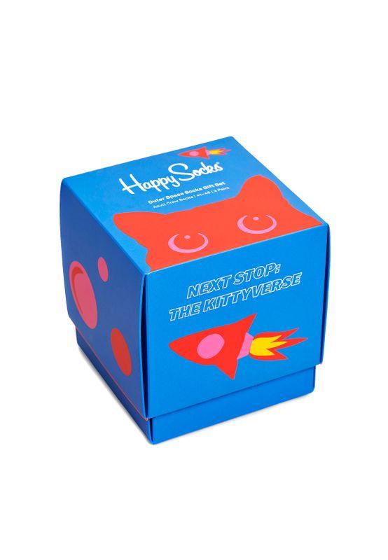 Happy Socks Geschenkbox OUTER SPACE SOCKS XSPA08-9300 Mehrfarbig Ansicht