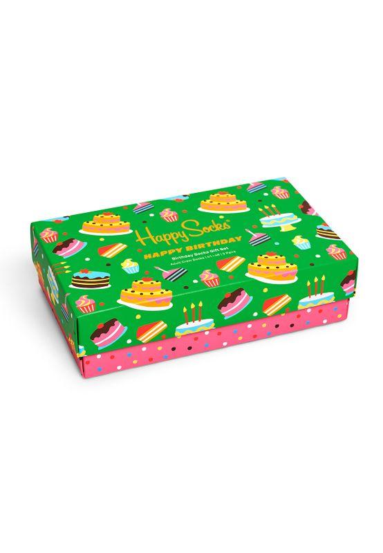 Happy Socks Geschenkbox HAPPY BIRTHDAY SOCKS XBIR08-0100 Mehrfarbig Ansicht