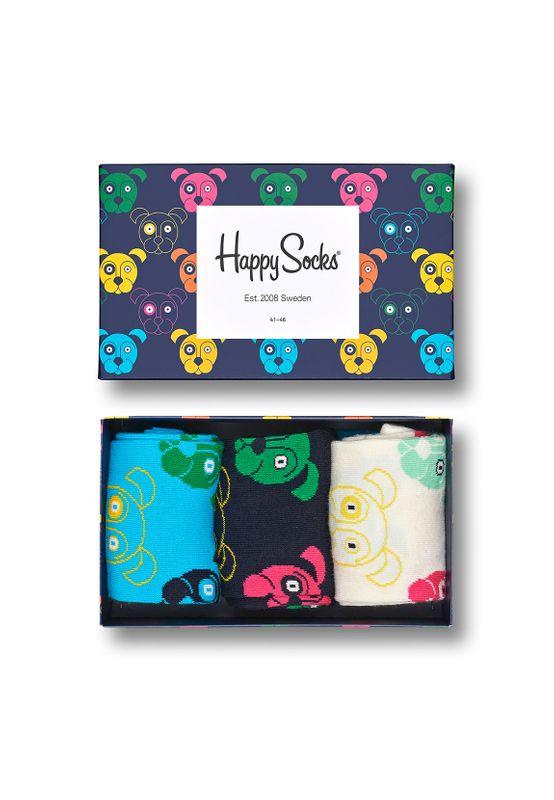 Happy Socks Geschenkbox MIXED DOG SOCKS XDOG08-0100 Mehrfarbig Ansicht