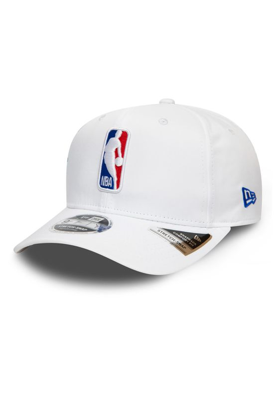 New Era NBA 9Fifty Snapback Cap NBA LOGO Weiß Ansicht