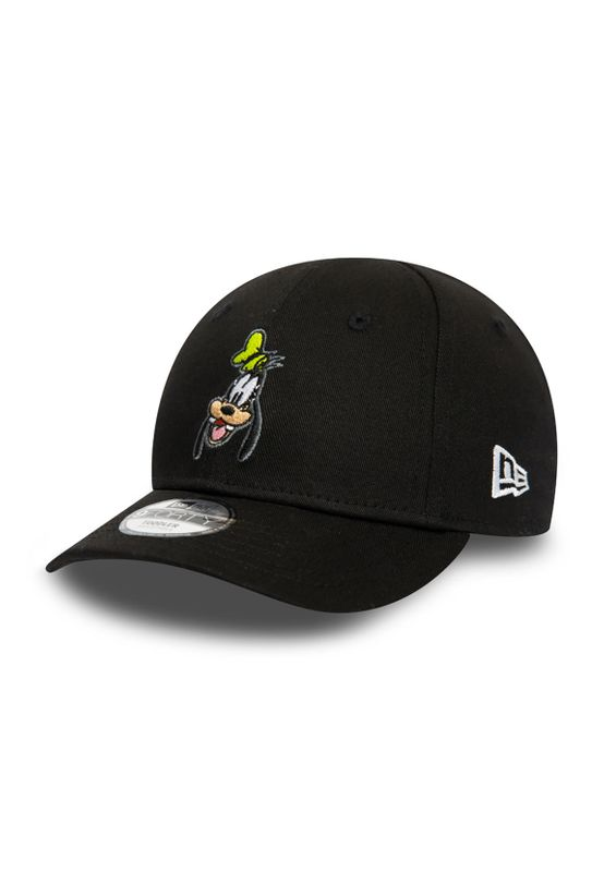 New Era Kids Disney Character 9Forty Adjustable Cap GOOFY Schwarz Ansicht