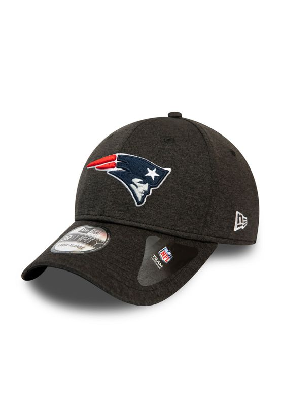 New Era Black Base Team Pop 39Thirty Cap NEW ENGLAND PATRIOTS Schwarz Ansicht