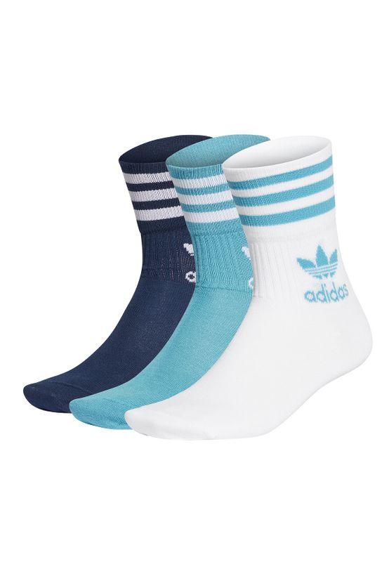 Adidas Originals Socken MID CUT CRW SCK GD3577 Mehrfarbig Blau Ansicht
