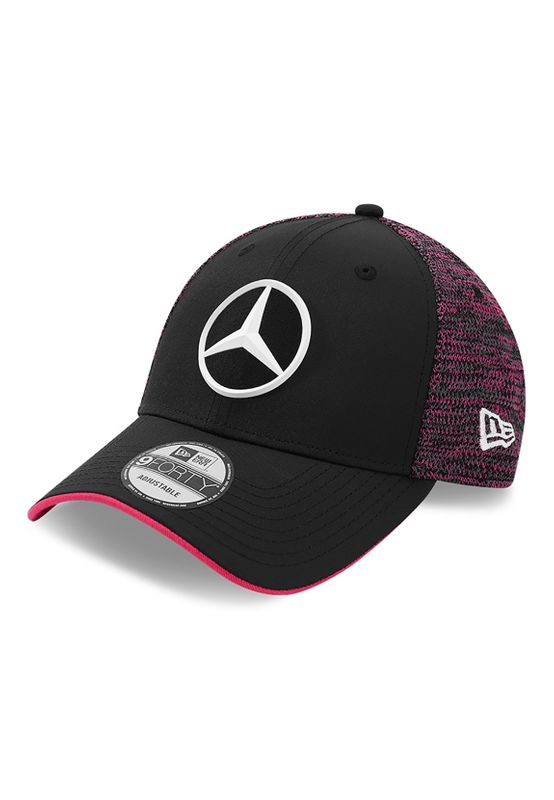 New Era Undervisor Pop 9Forty Adjustable Cap MERCEDES GP Schwarz Rot Ansicht