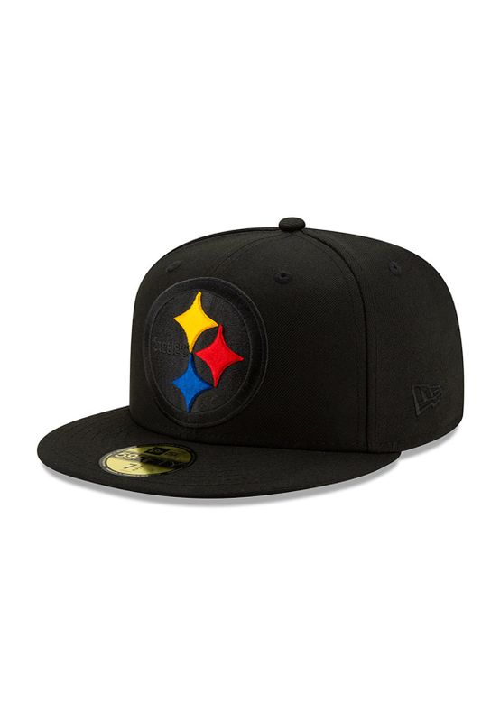 New Era NFL Elements 59Fifty Cap PITTSBURGH STEELERS Schwarz Ansicht