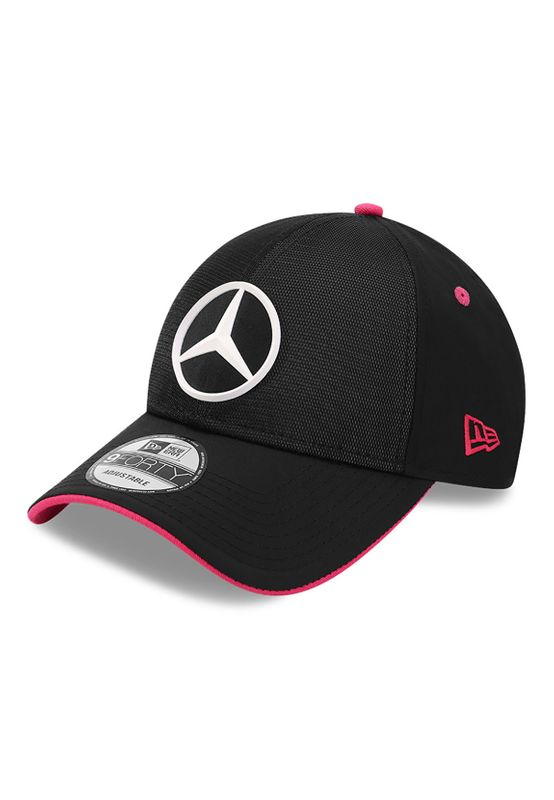 New Era Reflective 9Forty Adjustable Cap MERCEDES GP Schwarz Ansicht