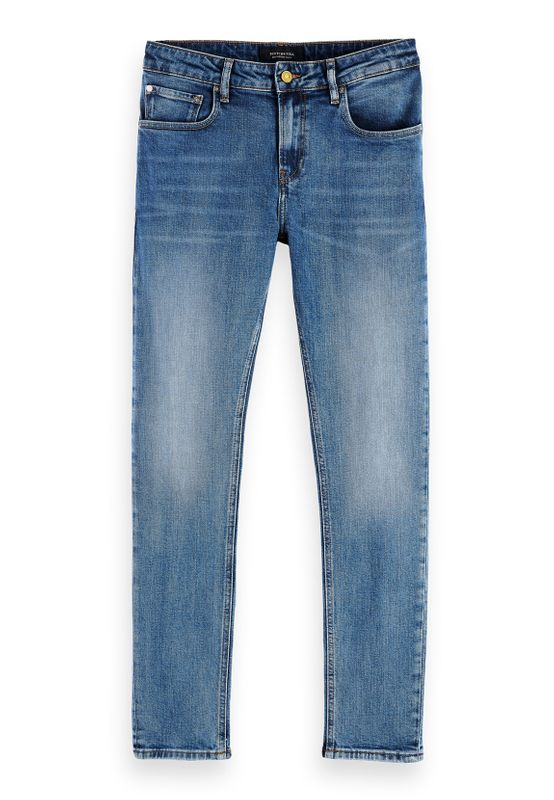 Scotch & Soda Jeans Men SKIM 153490 Mittelblau 3422 The Still Life Ansicht
