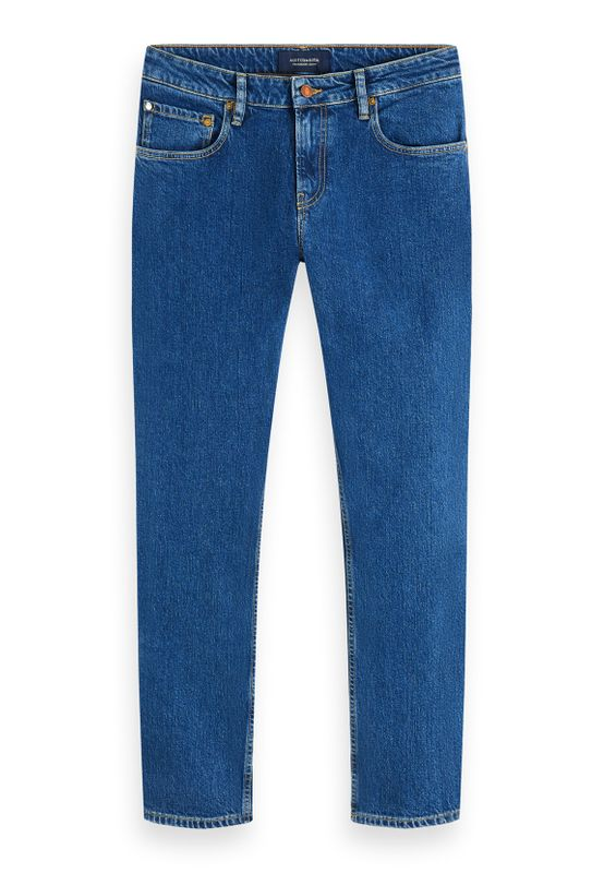 Scotch & Soda Jeans Men SKIM 156677 Mittelblau 3762 Blauw Sails Ansicht