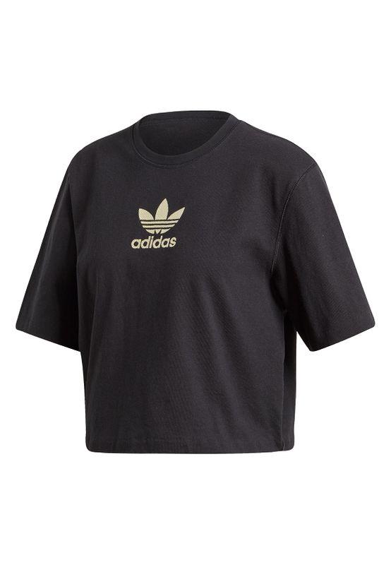 Adidas Originals T-Shirt Damen LG TEE FM2630 Black Ansicht