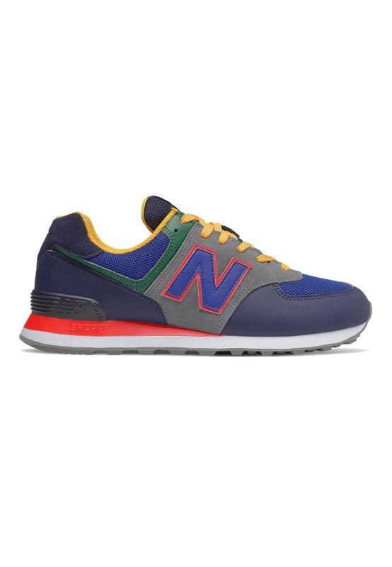 New Balance Sneaker Herren ML574MD2 MD2 Blue Grey Red Ansicht