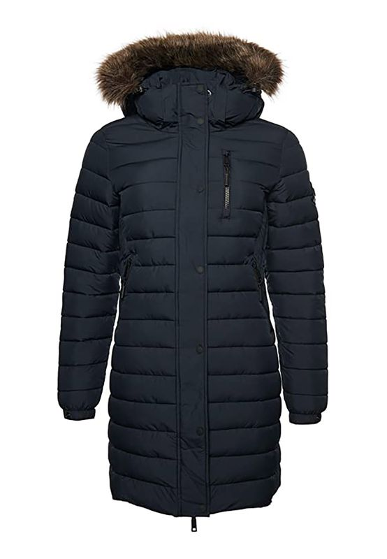 Superdry Jacke Damen SUPER FUJI JACKET Eclipse Navy Ansicht