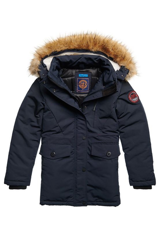 Superdry Jacke Damen EVEREST PARKA Eclipse Navy Ansicht