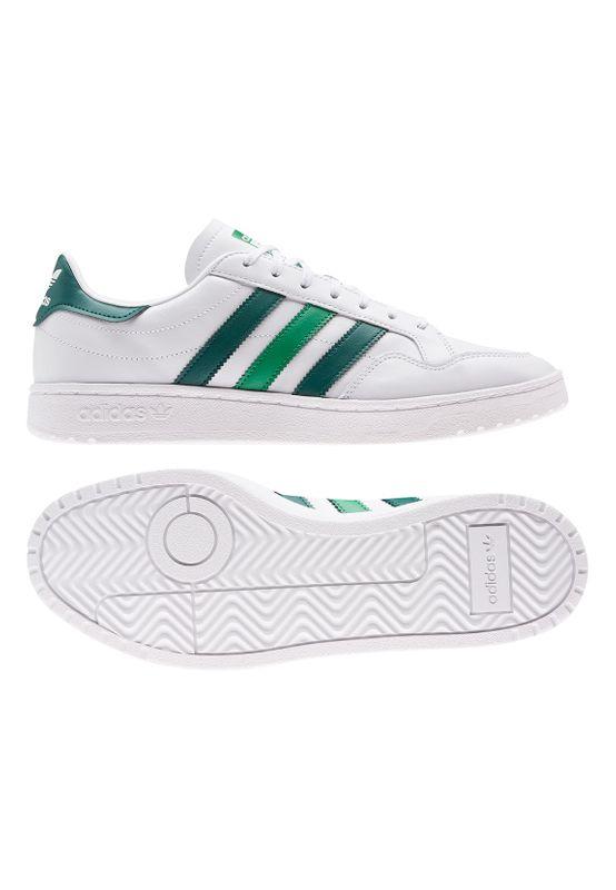 Adidas Originals Sneaker TEAM COURT FW5067 Weiss Grün Ansicht