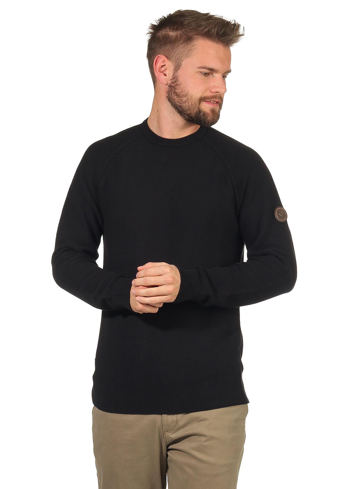 Ragwear Sweater Herren HANKAS 2022-35001 Schwarz Black 1010