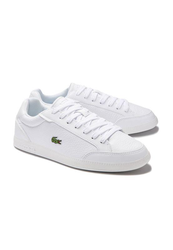 Lacoste Sneaker GRADUATE CAP 7-40SFA001521G WHT/WHT Weiss Ansicht