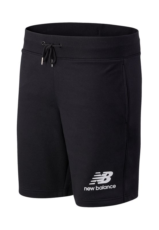 New Balance Herren Short ESSETIALS STACKED LG SHORT MS03558 Black Ansicht