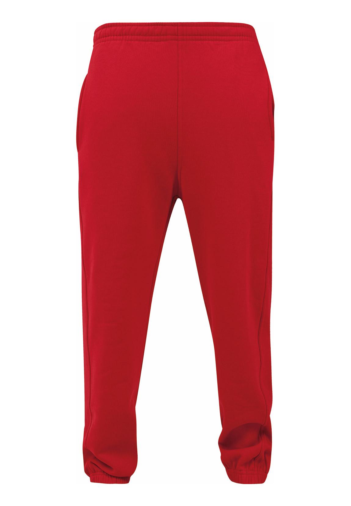 Urban Classics Jogger Herren SWEATPANTS TB014B Rot Red