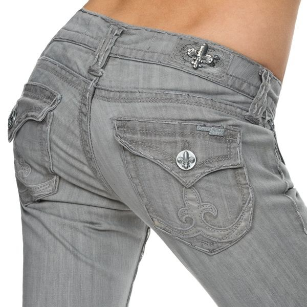 Laguna Beach Jeans Women - Manhattan Beach - Grau – Bild 3