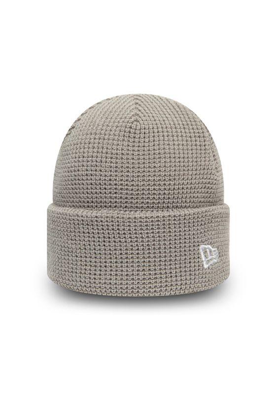 New Era Mütze NE SHORT KNIT Grau Ansicht