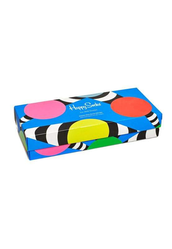 Happy Socks Geschenkbox CLASSIC DOTS GIFT BOX 4-PACK XDOT09-0100 Mehrfarbig Ansicht