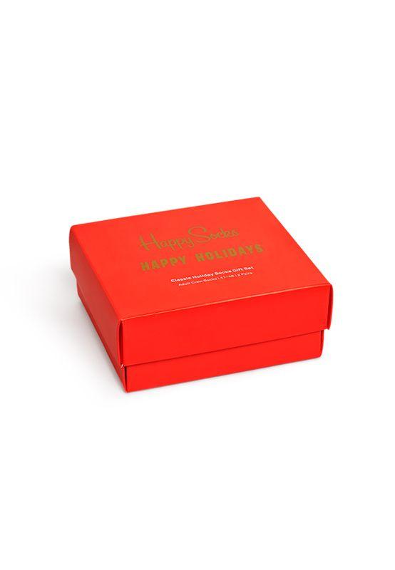 Happy Socks Geschenkbox HOLIDAY SOCKS GIFT BOX 2-PACK XMAS02-0100 Mehrfarbig Ansicht