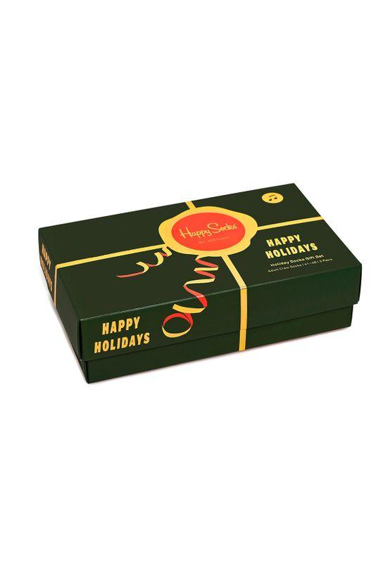 Happy Socks Geschenkbox HOLIDAY SOCKS GIFT BOX 3-PACK XWHS08-0100 Mehrfarbig Ansicht