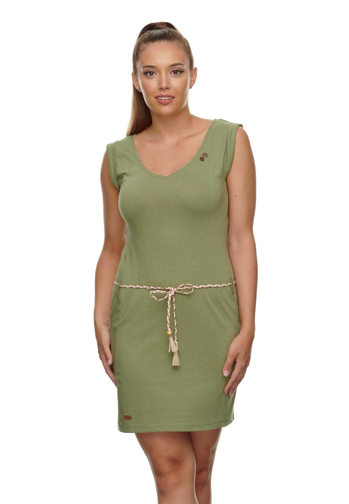 ragwear kleid damen slavka 2111-20022 khaki 5031 ollive | fashioncode.de  onlineshop
