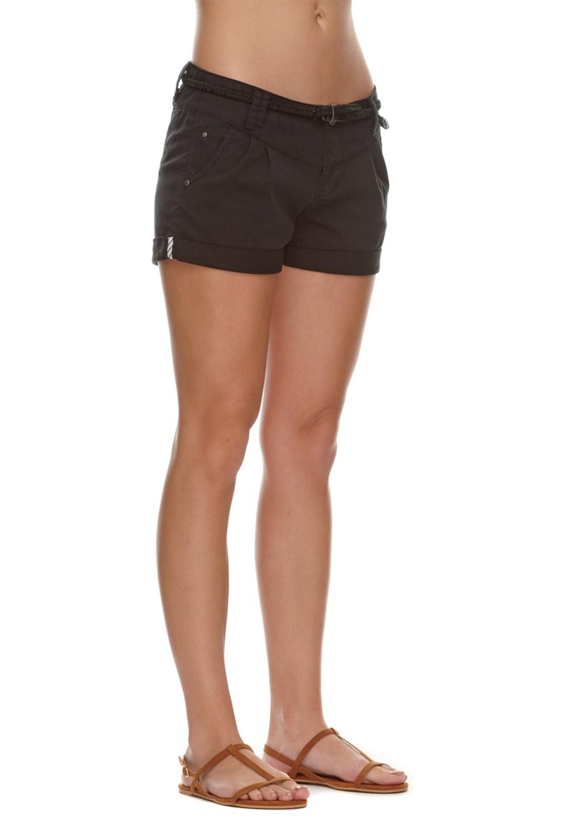 Ragwear Damen Shorts HAVEN B 2111-50007 Black 1010 Schwarz