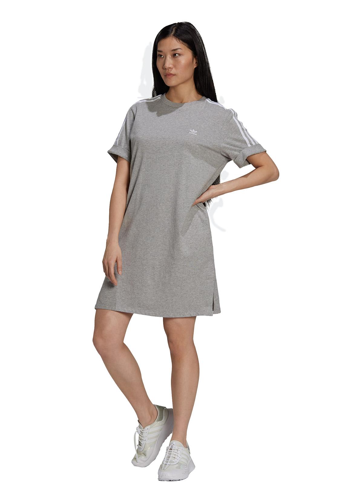 Adidas Originals Damen Kleid TEE DRESS H9 Grau