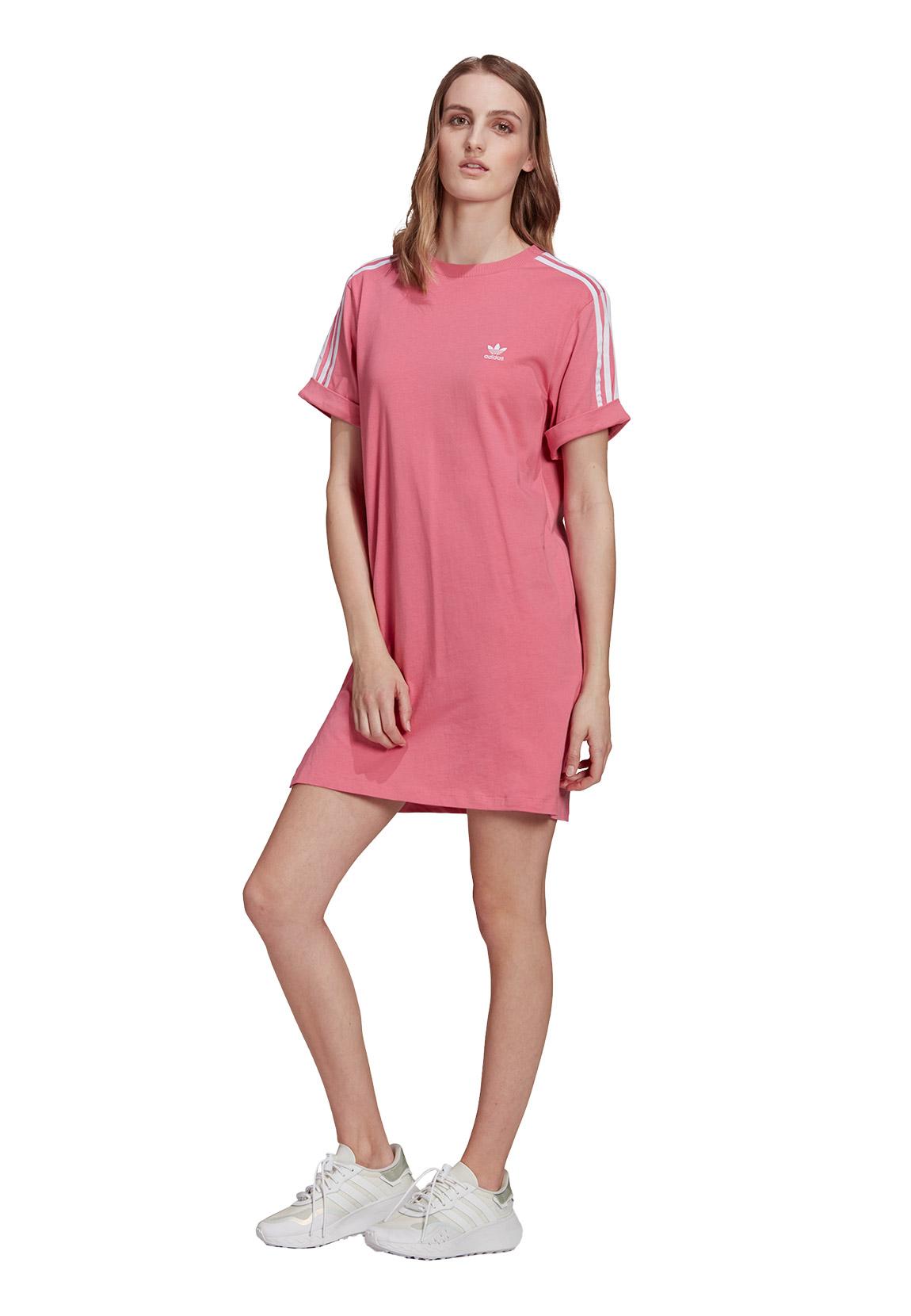 Adidas Originals Damen Kleid TEE DRESS H9 Rosa