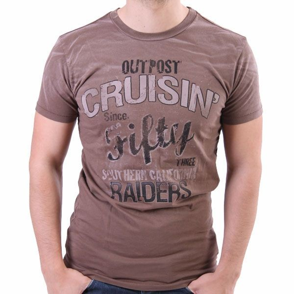 Outpost T-Shirt Men - Cruisin Raiders - Braun – Bild 0