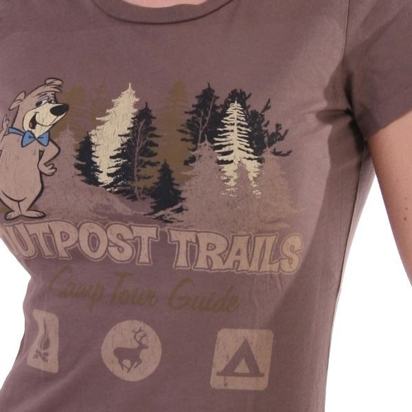 Outpost T-Shirt Women - Camp Tour Guide - Braun – Bild 3