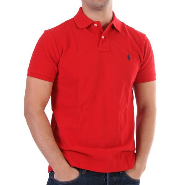 Ralph Lauren Polo Shirt - Basic Polo - Rot – Bild 1