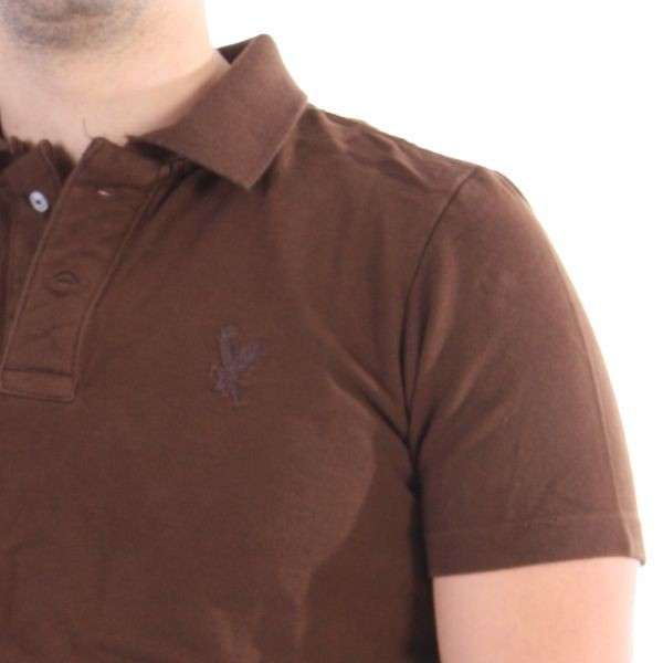 Surplus Polo Men - Destroyed Polo - Braun – Bild 2