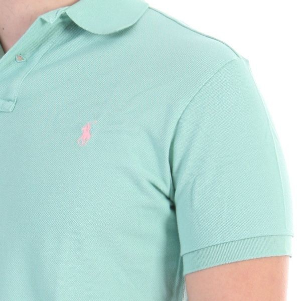 Ralph Lauren Polo Shirt - Knit Polo - Mintgrün – Bild 1
