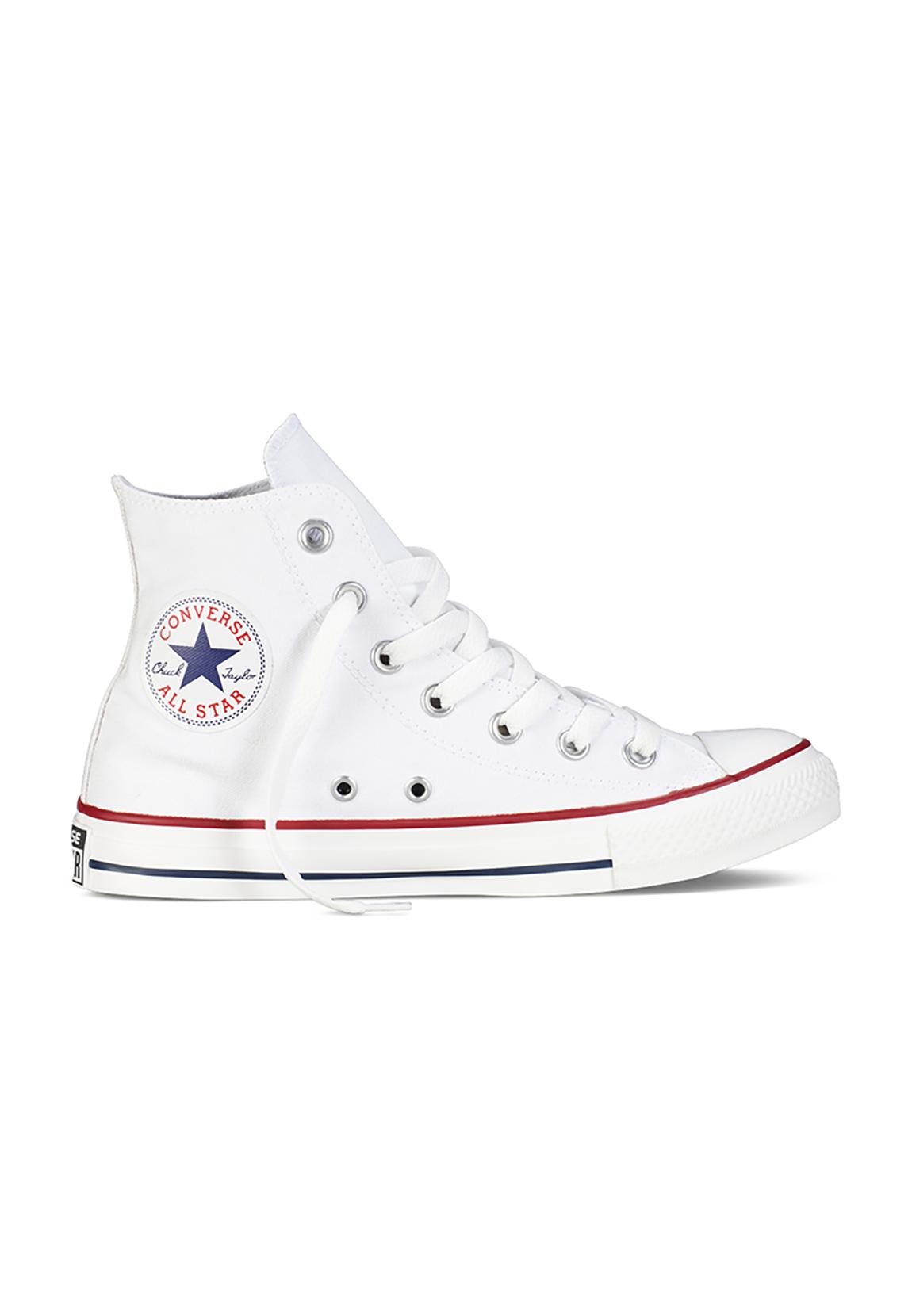 All Star Hi Converse Basic Chucks Weiss