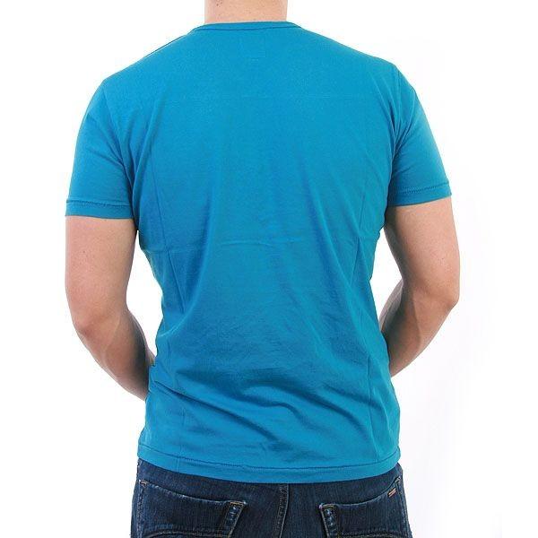 Japan Rags T-Shirt Men - Samson - Türkis – Bild 2