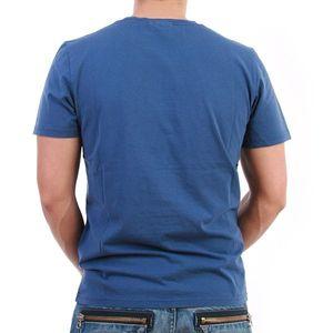 Converse T-Shirt Men - Garment Dyed Vintage Patch T - Blau – Bild 1